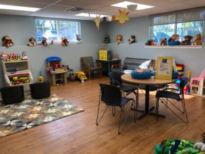 Playroom at the Children's Center of Medina County