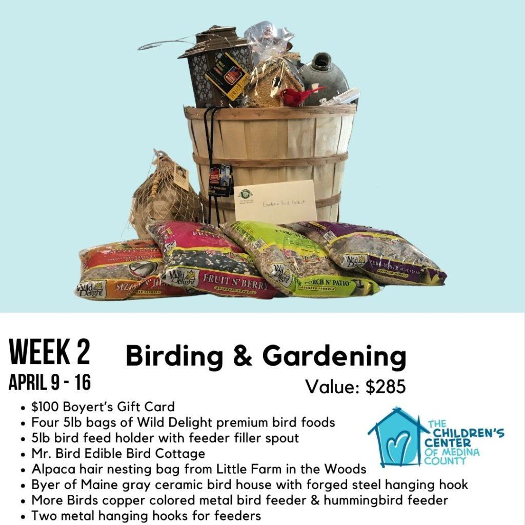 Birding & Gardening Gift Basket