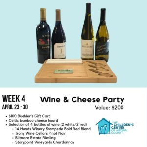 Wine & Cheese Party Gift Basket