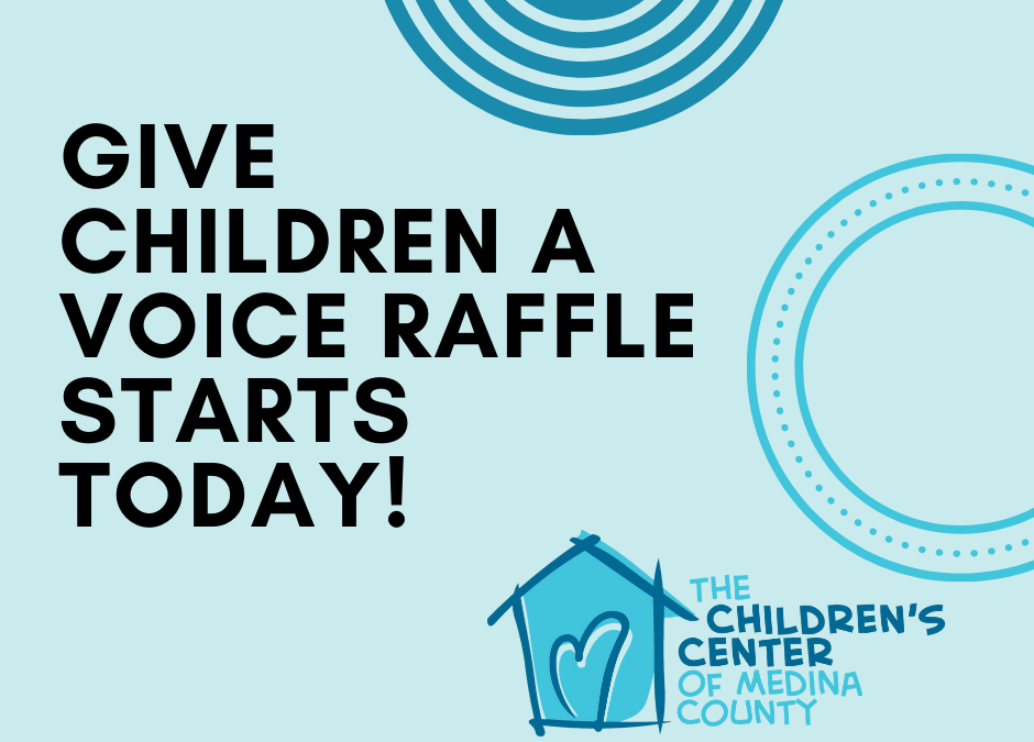 Give Children a Voice in April:  Online Raffle Information